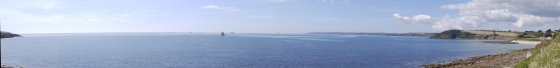 Falmouth bay panorama