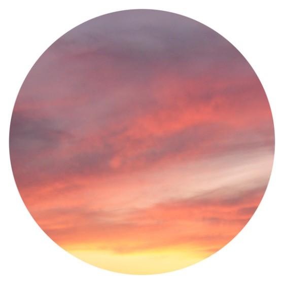 Porthole Sunset